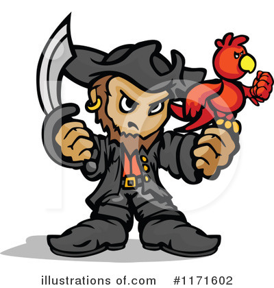 Pirate Clipart #1171602 by Chromaco