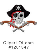Royalty-Free (RF) Pirate Clipart Illustration #1201347
