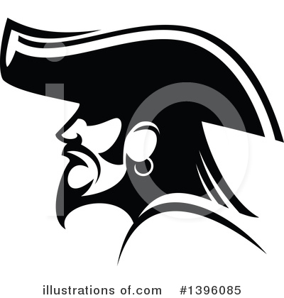 Pirate Clipart #1396085 by Vector Tradition SM