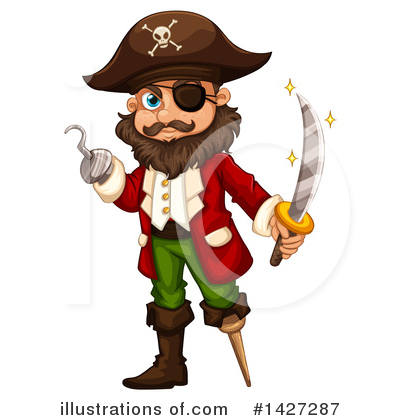 Pirate Clipart #1427287 by Graphics RF