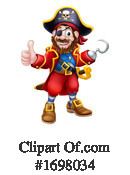 Pirate Clipart #1698034 by AtStockIllustration