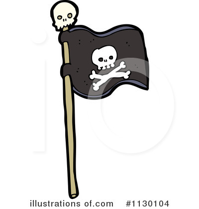 pirate flag clipart 1130104 illustration by lineartestpilot