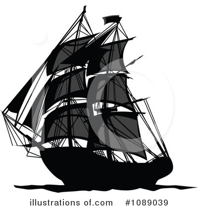 Pirate Clipart #1089039 by Chromaco