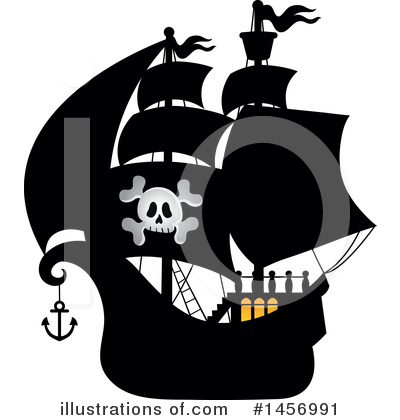 Pirate Clipart #1456991 by visekart