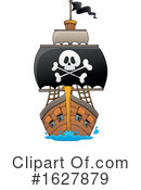 Pirate Ship Clipart #1627879 by visekart