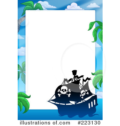 Pirates Clipart #223130 - Illustration by visekart