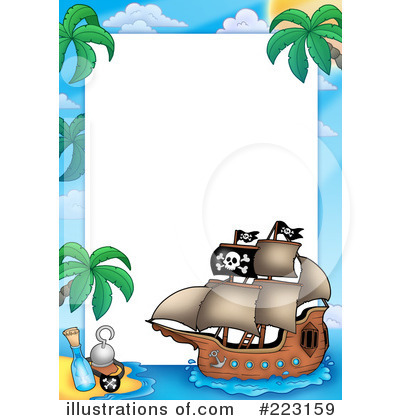 Pirates Clipart #223159 - Illustration by visekart