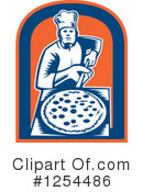 Pizza Clipart #1254486 by patrimonio