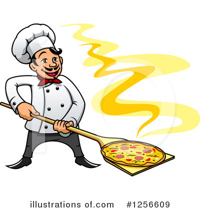 Chef Clipart #1256609 by Vector Tradition SM