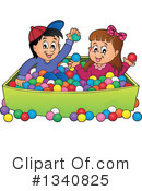 Playing Clipart #1340825 by visekart