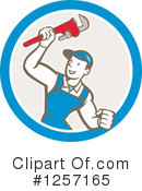 Plumber Clipart #1257165 by patrimonio