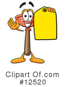 Plunger Character Clipart #12520 by Toons4Biz