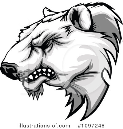 Bear Clipart #1097248 by Chromaco