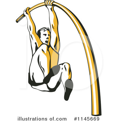 Pole Vault Clipart 1145669 Illustration By Patrimonio