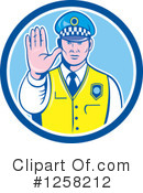 Police Clipart #1258212 by patrimonio