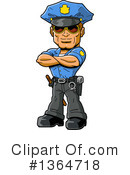 Police Clipart #1364718 by Clip Art Mascots