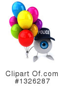 Police Eyeball Clipart #1326287 by Julos