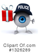 Police Eyeball Clipart #1326289 by Julos