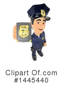 Police Officer Clipart #1445440 by Texelart
