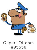 Police Officer Clipart #95558 by Hit Toon