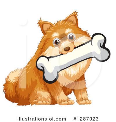 Pomeranian Clipart 1287021 Illustration By Graphics Rf
