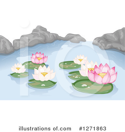 Lilies Clipart #1271863 by BNP Design Studio