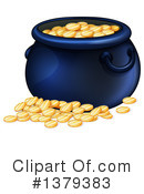 Pot Of Gold Clipart #1379383 by Graphics RF