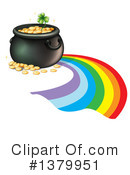 Pot Of Gold Clipart #1379951 by Graphics RF