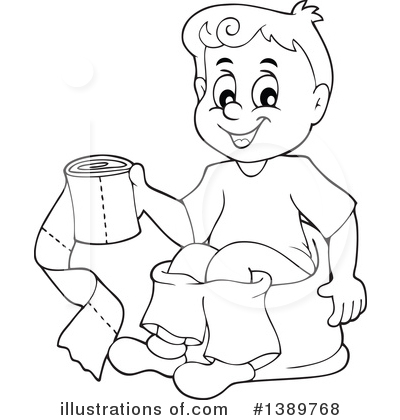 Potty Training Clipart 1389768
