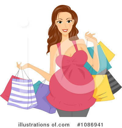 Royalty-Free (RF) Pregnant Clipart Illustration by BNP Design Studio - Stock Sample #1086941