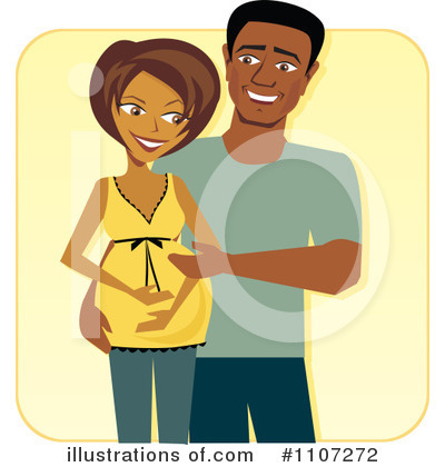 Couple Clipart #1107272 by Amanda Kate