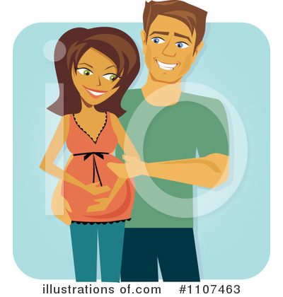 Couple Clipart #1107463 by Amanda Kate