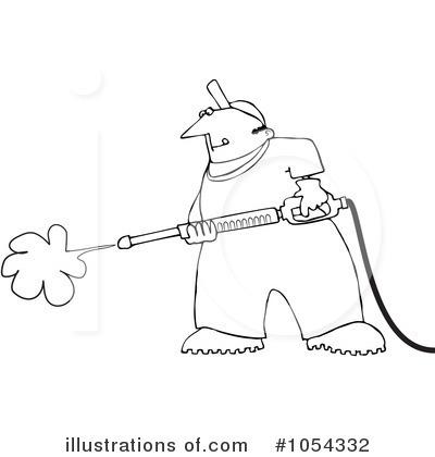 Pressure Washer Clipart 1054332 Illustration By Djart