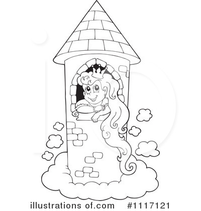 Princess Clipart 1117121 Illustration By Visekart