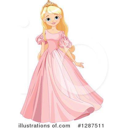 princess clipart 1287511 illustration by pushkin rh illustrationsof com free disney princess clipart princess tiana clipart free