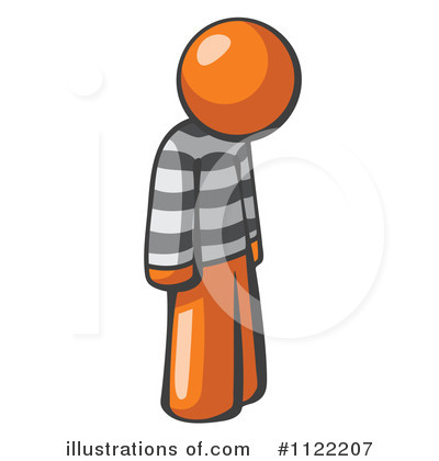 Prisoner Clipart #1122207 - Illustration by Leo Blanchette