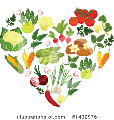 Herbs Clipart #1432976 by Vector Tradition SM