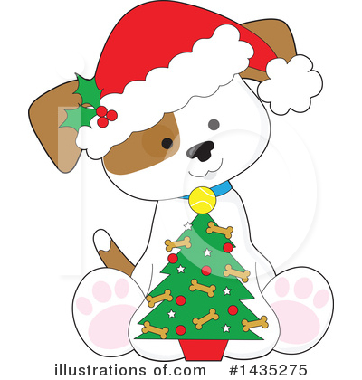Royalty-Free (RF) Puppy Clipart Illustration by Maria Bell - Stock Sample #1435275