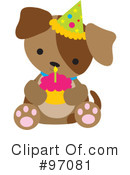 Puppy Clipart #97081 by Maria Bell
