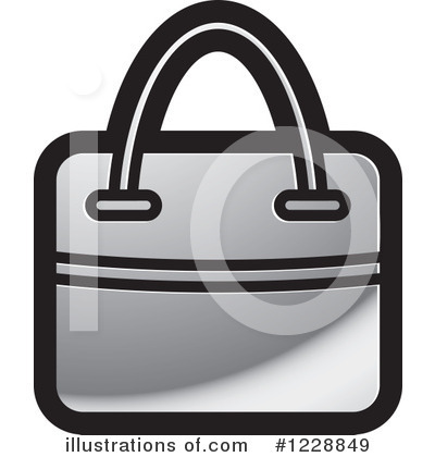 Purse Clipart #1228849 - Illustration by Lal Perera
