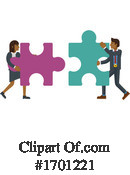 Puzzle Clipart #1701221 by AtStockIllustration