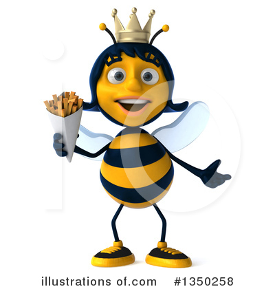Queen Bee Clipart 1350258 Illustration By Julos
