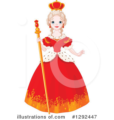 Clip Art Queen Clipart queen clipart 1292447 illustration by pushkin royalty free rf pushkin