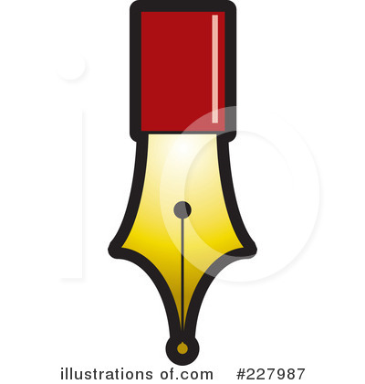 Quill Clipart #227987 - Illustration by Lal Perera