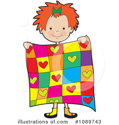 Quilt Clipart #1089743 - Illustration by Maria Bell : quilt graphics - Adamdwight.com