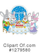 Rabbit Clipart #1279580 by Alex Bannykh