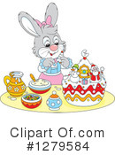 Rabbit Clipart #1279584 by Alex Bannykh