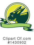 Rabbit Clipart #1430902 by patrimonio