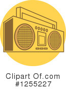 Radio Clipart #1255227 by Andy Nortnik