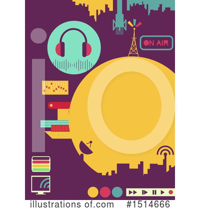 Microphone Clipart #1145363 - Illustration by BNP Design ...